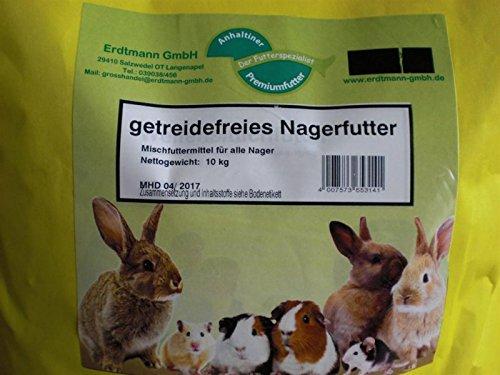getreidefreies Nagerfutter 10 kg Anhaltiner Premiumfutter - 2