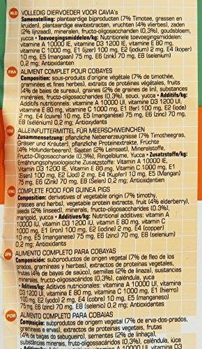 Versele Laga Meerschweinchenfutter Complete 500 g, 3er Pack (3 x 500 g) - 4