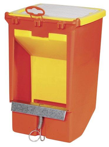 Kerbl 74104 Futterautomat für Kaninchen  Kunststoff / Metall, 1 Fressplatz - 2