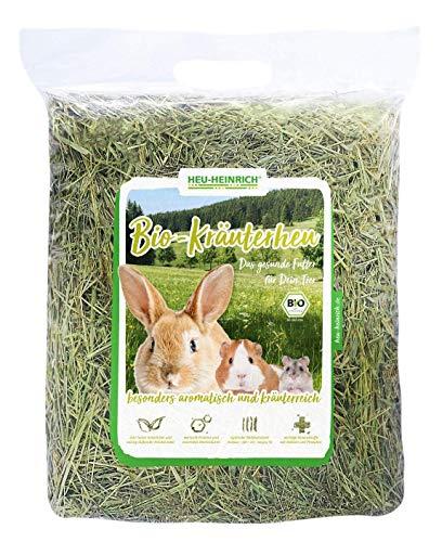 HEU-HEINRICH® 4 x 1kg Bio - Bergwiesen - Kräuterheu aus dem Naturpark Thüringer Wald
