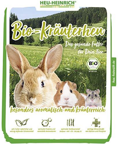 HEU-HEINRICH® 4 x 1kg Bio – Bergwiesen – Kräuterheu aus dem Naturpark Thüringer Wald - 3
