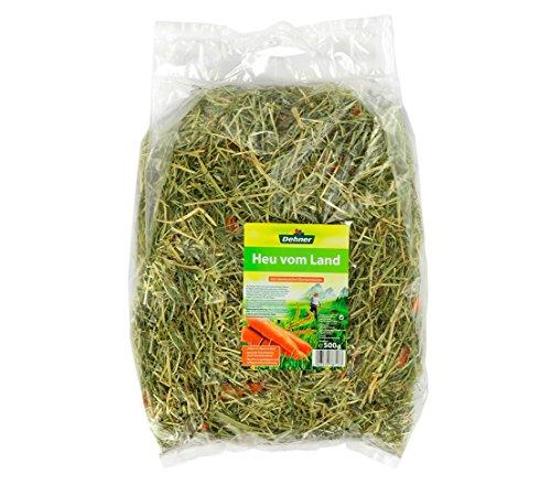 Dehner Nagerfutter, Heu-Mix, je 2 x 3 verschiedene Sorten, je 500 g (3000 g) - 2
