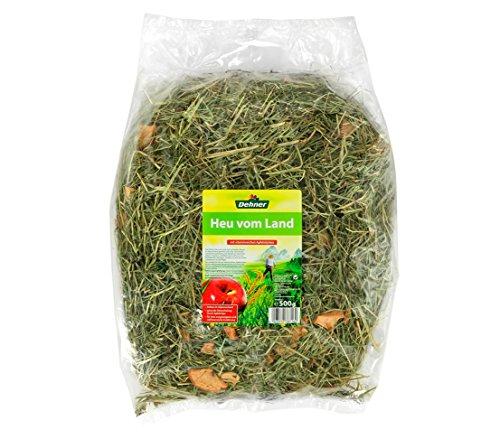 Dehner Nagerfutter, Heu-Mix, je 2 x 3 verschiedene Sorten, je 500 g (3000 g) - 3