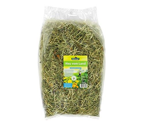 Dehner Nagerfutter, Heu-Mix, je 2 x 3 verschiedene Sorten, je 500 g (3000 g) - 4