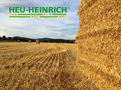 HEU-HEINRICH® 1 kg Bio – Stroh – weiches Einstreu für Ihr Heimtier - 5