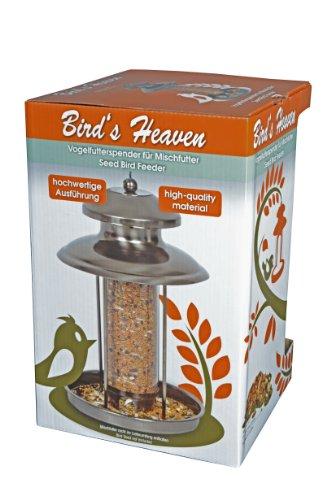 Vogelfutterspender Vogelfutterhaus aus Metall Bird´s Heaven Vogelhaus für Vogelfutter