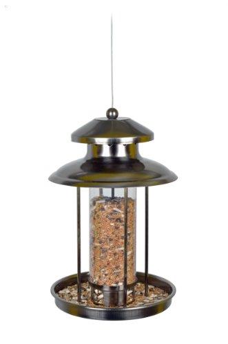 Vogelfutterspender Vogelfutterhaus aus Metall Bird´s Heaven Vogelhaus für Vogelfutter - 3
