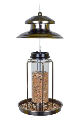 Vogelfutterspender Vogelfutterhaus aus Metall Bird´s Heaven Vogelhaus für Vogelfutter - 2