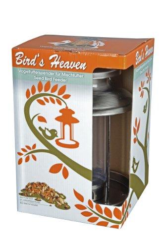 Vogelfutterspender Vogelfutterhaus aus Metall Bird´s Heaven Vogelhaus für Vogelfutter - 4