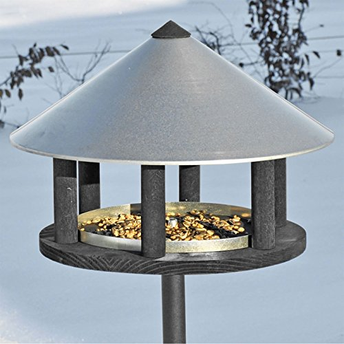 Vogelfutterhaus im exclusiven dänischen Design – Vogelhaus Vogelstation Futterhaus Vogeläuschchen Futterhaus Vogelfutterstation - 2