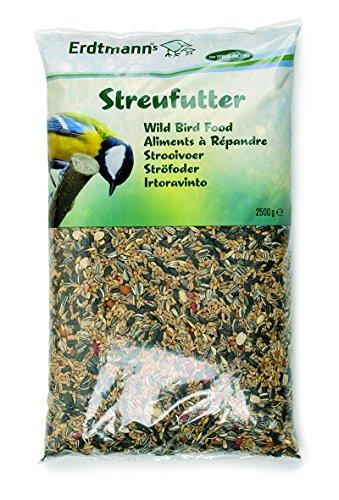 Erdtmanns Streufutter 6 x 2500 g, 1er Pack (1 x 15 kg)