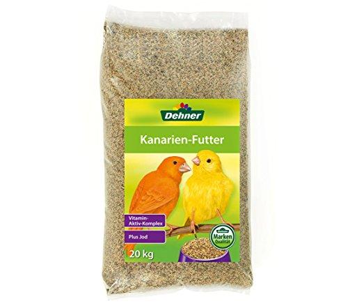 Dehner Vogelfutter für Kanarien, 20 kg