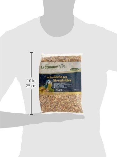 Erdtmanns schalenloses Streufutter plus, 1er Pack (1 x 800 g) - 4