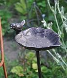 Vogeltränke auf Stab - Höhe 98 cm