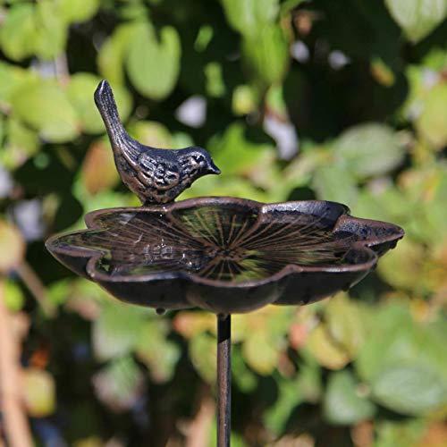 """Vogeltränke """"Blume mit Vogel"""" 47245 VOGELTRÄNKE A F BLUME 47245-350827"""