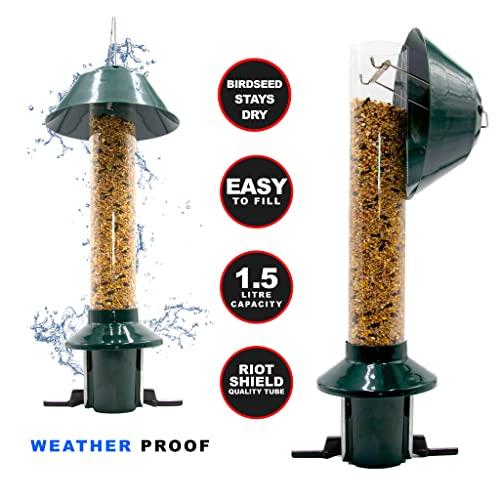 Eichhörnchensichere Vogelfutterstation Roamwild Pest-Off-Futterstation für Erdnüsse - 6