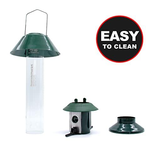 Eichhörnchensichere Vogelfutterstation Roamwild Pest-Off-Futterstation für Erdnüsse - 7