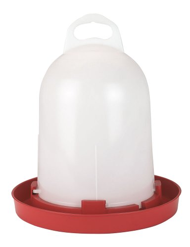 Kerbl 70261 Kunststoff-Tränke, für Küken  und  Hühner, 5.5 l, Kunststoff