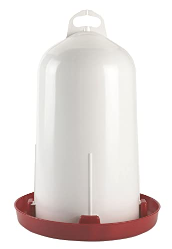 Kerbl 70215 Tränke Kunststoff Doppelz. für Hühner 12 L