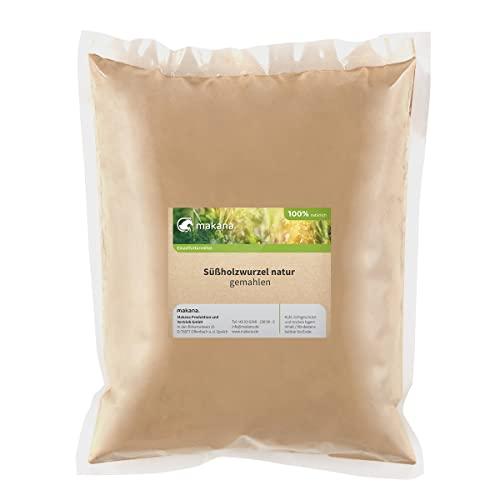 Makana ® Süßholzwurzel natur, gemahlen, 500 g Beutel (1 x 0,5 kg)