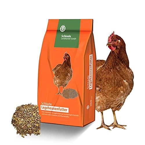 Hühnerfutter als Legehennenfutter gegen Milben 25 kg, grob geschroten