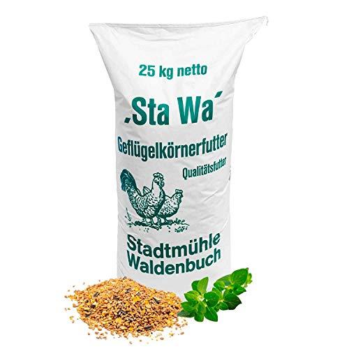 StaWa Hühnerfutter Geflügelkörnerfutter Körnerfutter 25 kg !!!GVO frei!!!