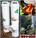 Dine a Chook Hühner Futterautomat Set Futter/Wasser