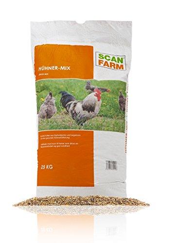 ScanFarm® Hühner-Mix, 25 kg Hühnerfutter
