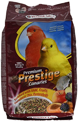 Versele Laga Vogelfutter für Kanarien 2,5 kg, 1er Pack (1 x 2.5 kg)