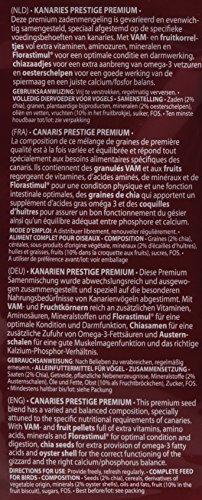Versele Laga Vogelfutter für Kanarien 2,5 kg, 1er Pack (1 x 2.5 kg) - 4