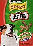 Bonzo Biskuits Hundesnack kleine Lieblingsknochen, 1er Pack (1 x 1,5 kg)
