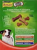 Bonzo Biskuits Hundesnack kleine Lieblingsknochen, 1er Pack (1 x 1,5 kg) - 4