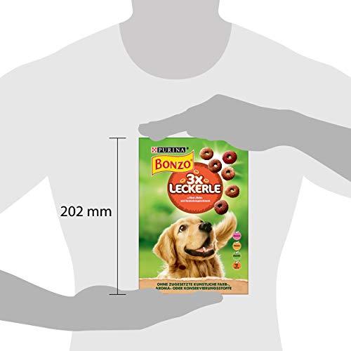 Bonzo 3 x Leckerle Hundesnack, 6er Pack (6 x 500 g) - 2