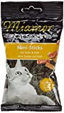 Miamor Katzensnacks Mini-Sticks Huhn & Ente 50 g, 8er Pack (8 x 50 g)