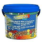 JBL 40146 Rundumernährung für alle Teichfische, PondSticks 4 in 1, 1er Pack (1 x 5.5 l)