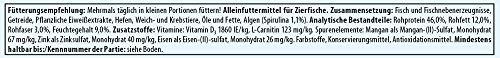 Tetra Pro Algae Premiumfutter (für alle tropischen Zierfische, mit Algenkonzentrat zur Verbesserung der Widerstandskraft, Vitaminstabilität und hoher Nährwert, Spirulina-Alge), 250 ml Dose - 7
