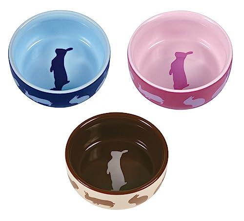Trixie Keramiknapf mit Motiv, Kaninchen, 250 ml/ø 11 cm