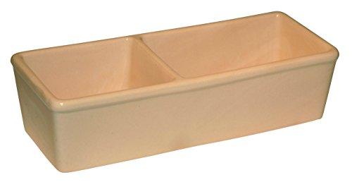Kerbl 82785 Keramiknapf fÃ1/4r Nager, doppelt 350ml + 450ml