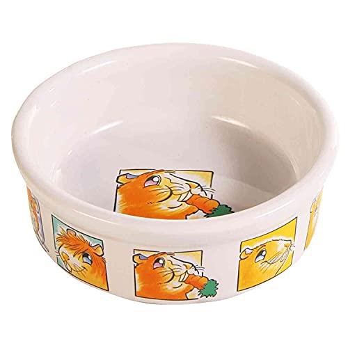 Trixie Keramik Schüssel mit Motiv für Meerschweinchen