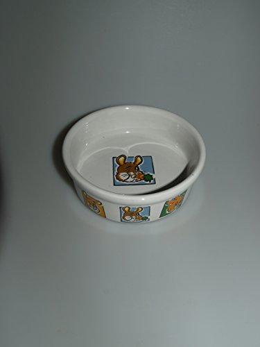 Trixie Keramik Schüssel mit Motiv für Kaninchen