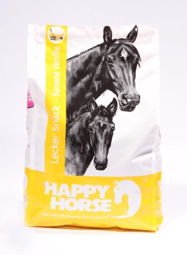 Happy Horse Leckersnacks Banane/Vanille 1 kg