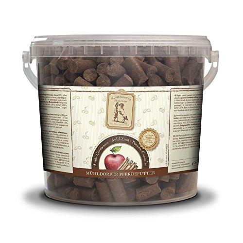 Mühldorfer Apfel-Zimt Leckerli, 3 kg (Ergänzungsfuttermittel für Pferde)