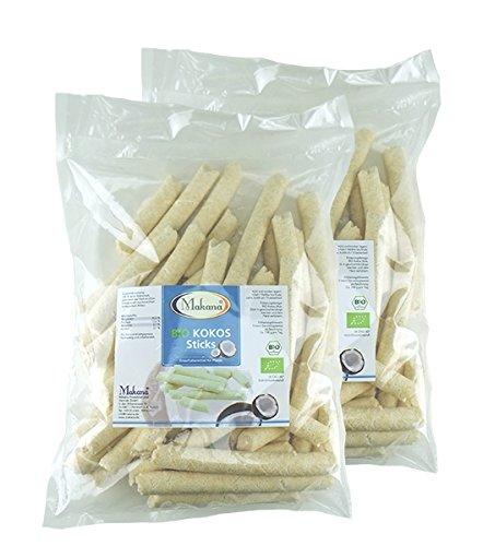 Makana ® BIO Kokos Sticks für Pferde, 2 x 1 kg Beutel (2 x 1 kg)