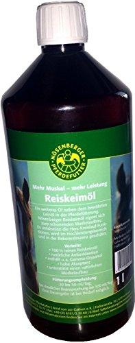 Nösenberger Reiskeimöl 1 ltr. kalt gepresst