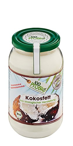100ProBio Kokosfett mild – geruchs- und geschmacksneutral, 1er Pack (1 x 1 l) - 3