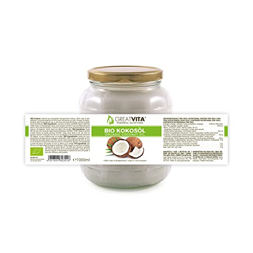 MeaVita Bio Kokosöl, nativ, 1er Pack (1 x 1000 ml) - 4