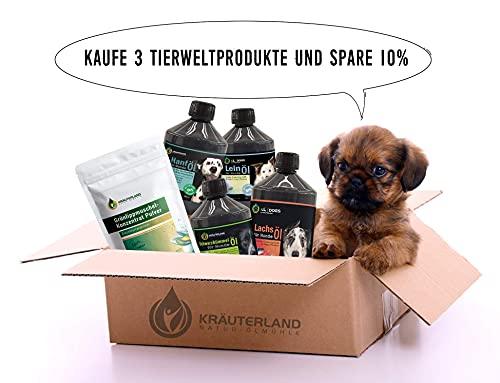 Schwarzkümmelöl 1000ml ungefiltert für Pferde in Dosierflasche *** mühlenfrisch direkt vom Hersteller Kräuterland Natur-Ölmühle *** 100% naturrein *** - 3