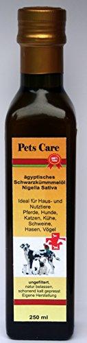 250 ml Schwarzkümmelöl ungefiltert zur Nahrungsergänzung für Tiere