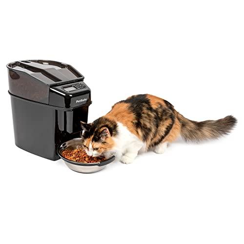 PetSafe Futterautomat, automatischer programmierbarer Futternapf mit Timer, Fressnapf, für Hunde und Katzen, 12 portionierbare Mahlzeiten, batteriebetrieben, digital, rutschfest