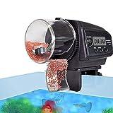 Expresstech @ Fischfutterautomat Fische Futterspender Futterautomat Futter-Automat Fisch Feeder Automatische Automatischer Fischfutterspender mit LCD und Zeitschaltuhr Fisch-Zufuhr für Aquarium Aquarien Teich Fisch Tank Fisch-Aquarien Behälter Aquarienfische - 3